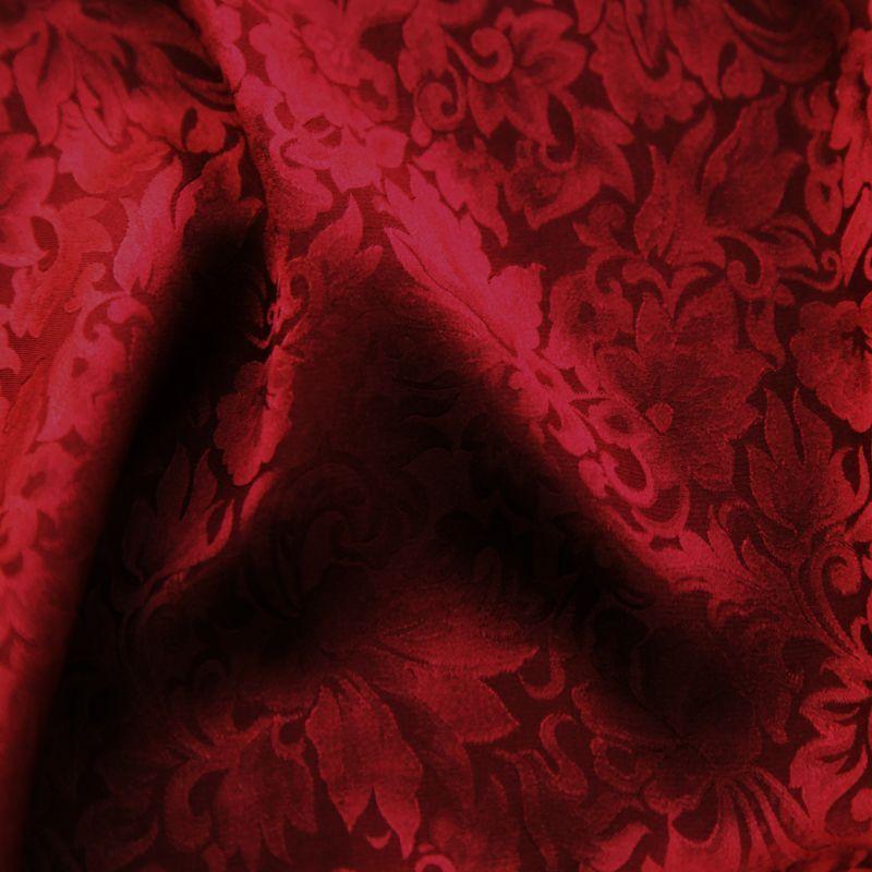 画像1: ワイルドラグ(カウボーイ大判スカーフ)レッド/100% Silk Wild Rags
