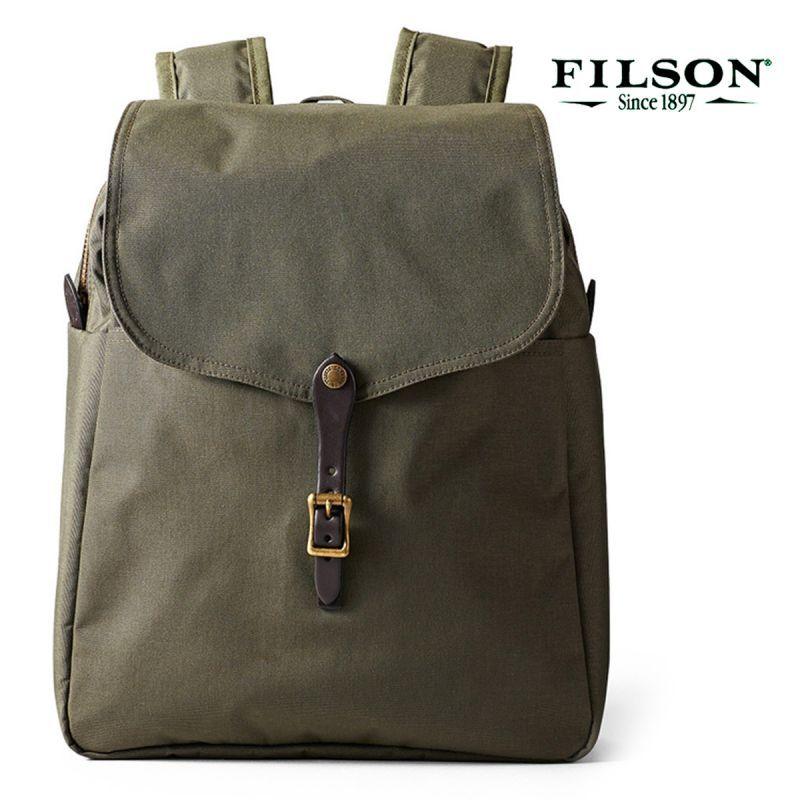 画像1: フィルソン ライトウエイト バックパック・デイパック(オッターグリーン)/Filson Daypack(Otter Green)