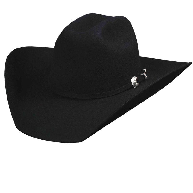 画像1: ブルハイド プレミアムウールフェルトハット(ブラック)/Bullhide Rodeo Round-Up Wool Felt Hat