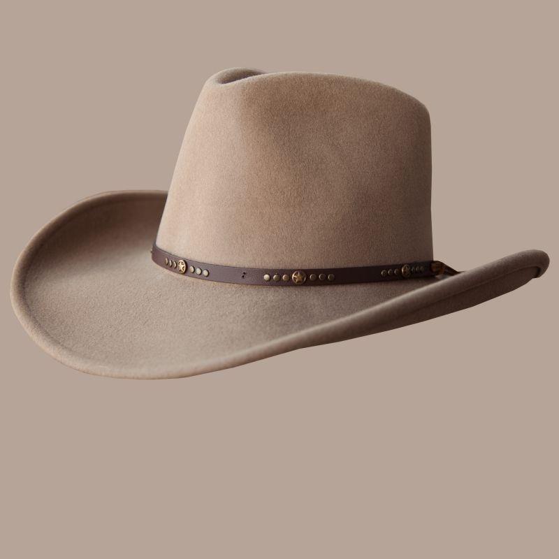 画像1: ベイリー クラッシャブル ウール カウボーイ ハット(スター・パティ)L/Bailey Cowboy Hat(Putty) (1)