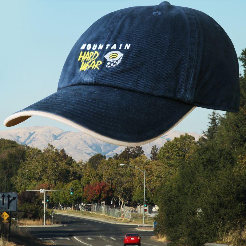 画像1: マウンテンハードウェア キャップ(ネイビー)/Mountain Hard Wear Baseball Cap (1)