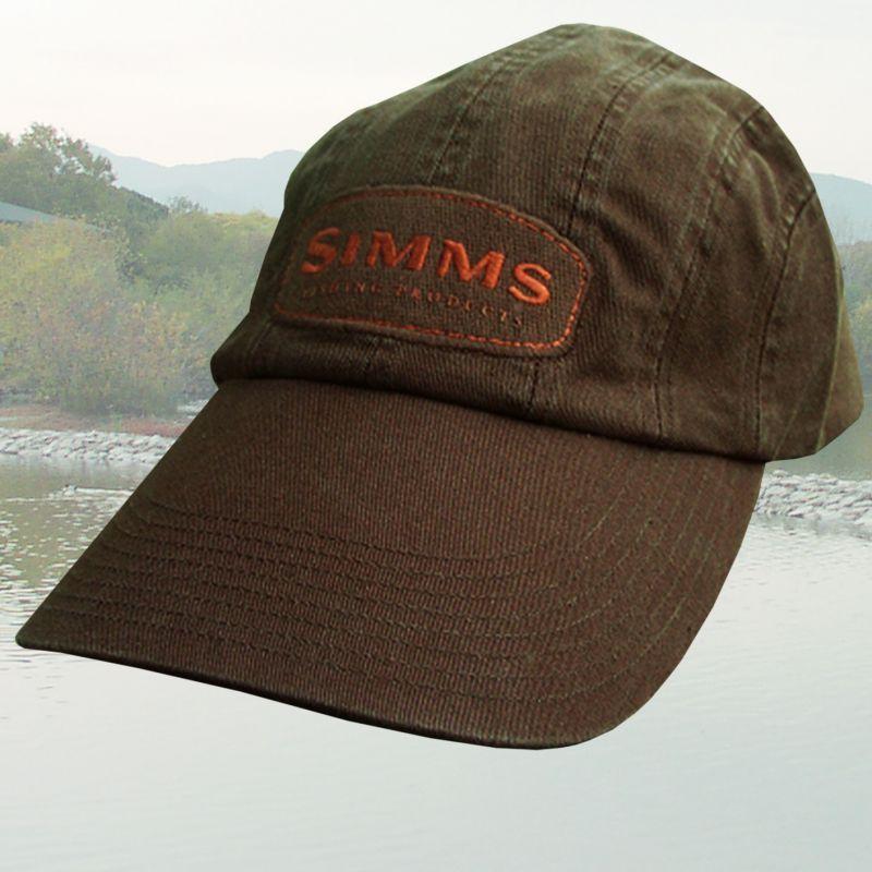 画像1: シムス キャップ ブラウン/Simms Cap(Brown)