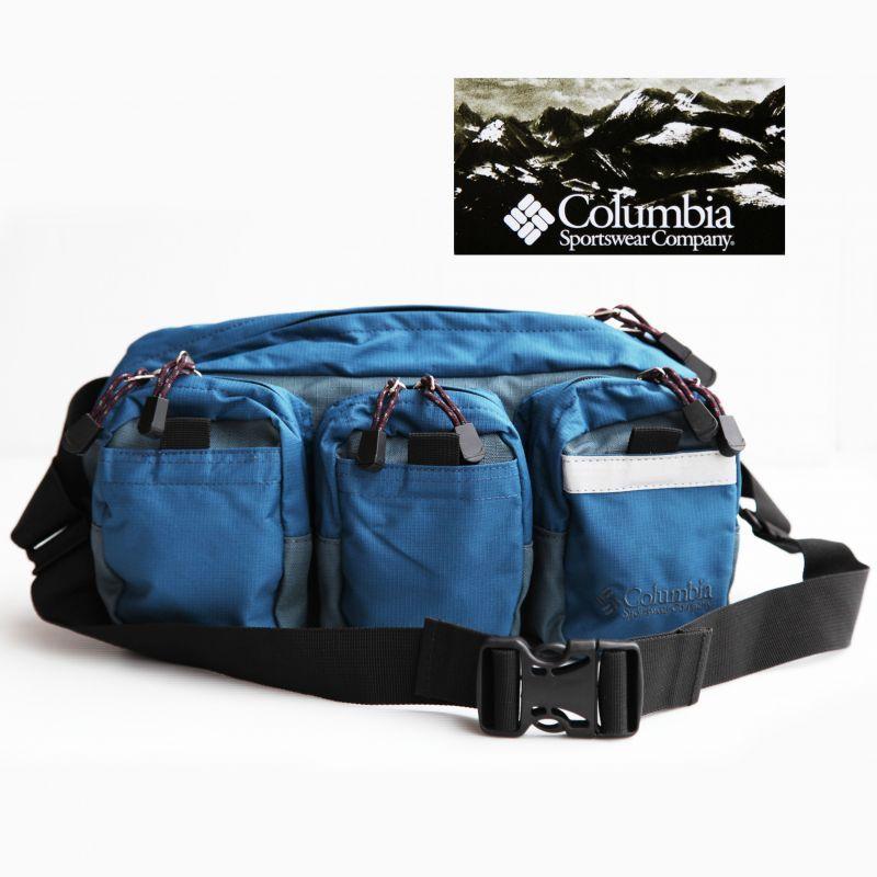 画像1: コロンビア ウエストバッグ ブルー/Columbia Hip Pack