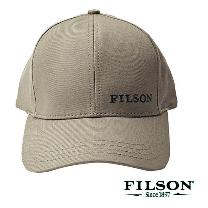 画像1: フィルソン ロガー キャップ(カーキ)/Filson Logger Cap(Khaki) (1)