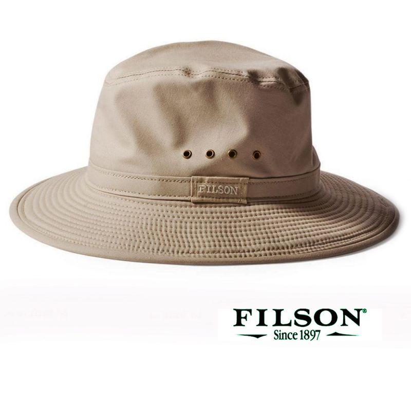 画像1: フィルソン サマー パッカー ハット(カーキ)L/Filson Summer Packer Hat(Khaki)