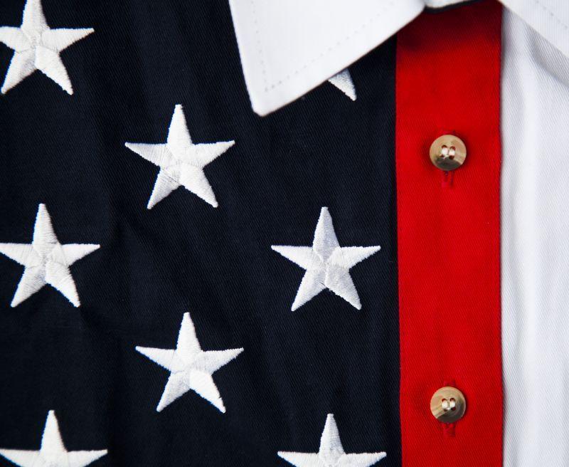 画像2: スカリー USA アメリカ国旗 シャツ(ノースリーブ/アメリカンフラッグ)/Scully Western Shirt(Women's)