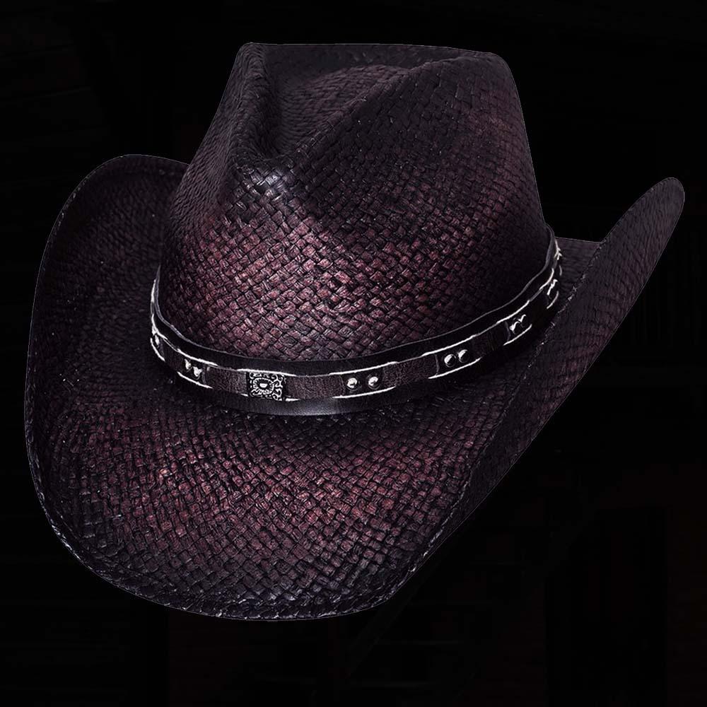 画像1: ブルハイド ウエスタン ストローハット(バーニンダウン)/BULLHIDE Western Straw Hat Burnin'Down (1)