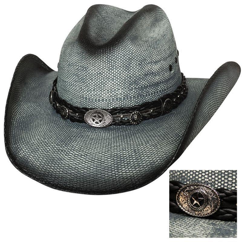 画像1: ブルハイド ウエスタン ストローハット(イントゥ ユー)/BULLHIDE Western Straw Hat Into You