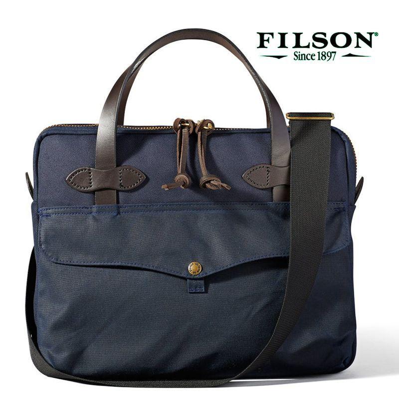 画像1: フィルソン タブレット ブリーフケース(ネイビー)/Filson Tablet Briefcase(Navy)
