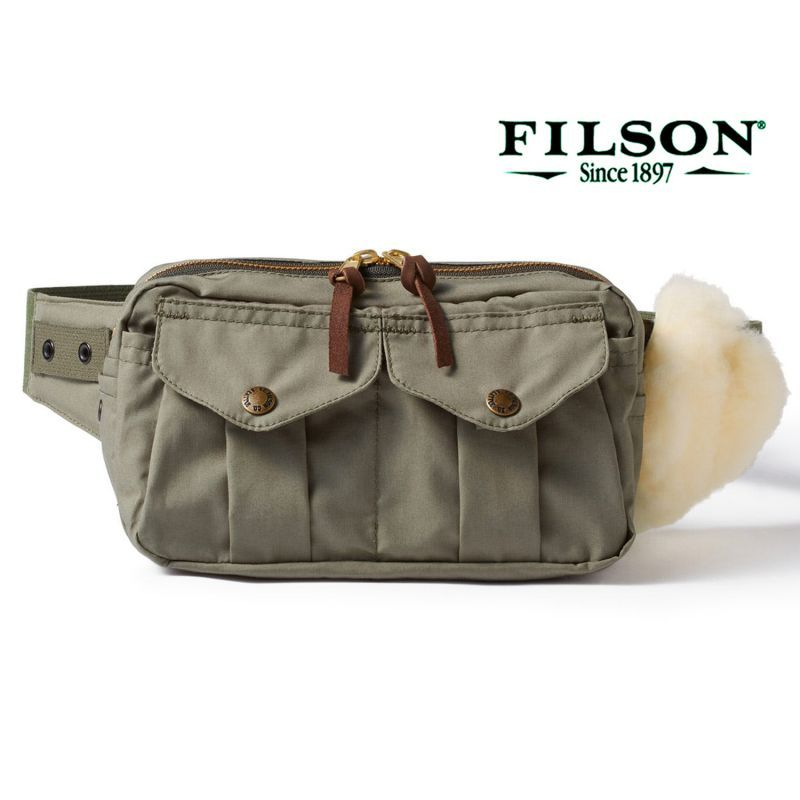 画像1: フィルソン フィッシング ウエスト パック/Filson Fishing Waist Pack