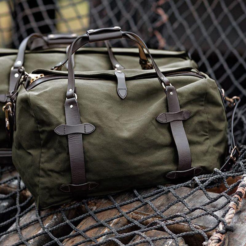 画像1: フィルソン スモールダッフル(オッターグリーン)/Filson Small Duffle Bag(Otter Green)