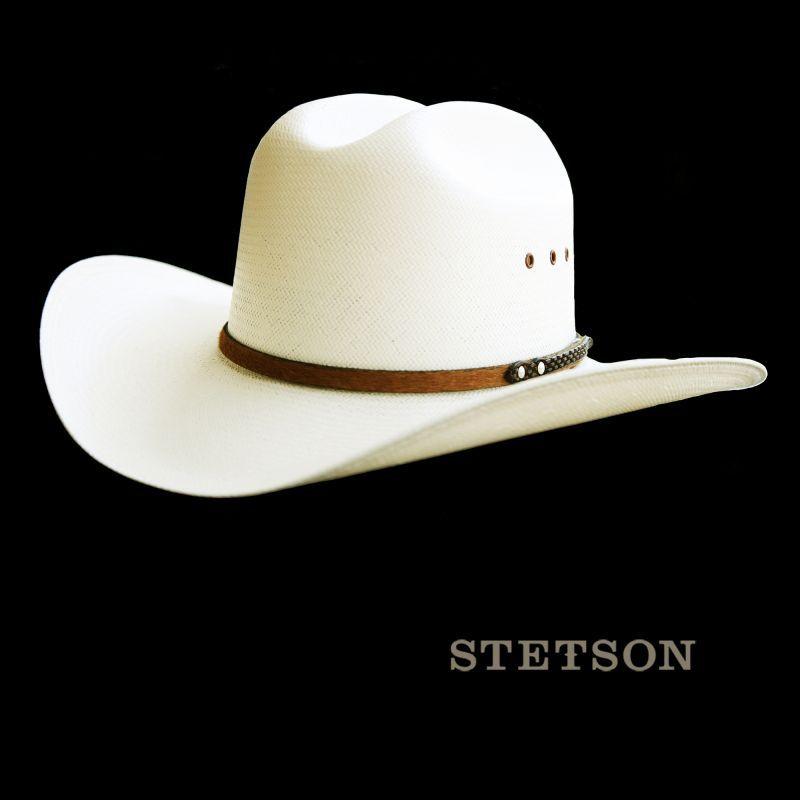画像1: ステットソン  カウボーイハット/ Stetson Western Straw Hat (1)