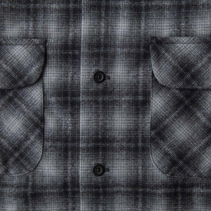 画像2: ペンドルトン ウールシャツ ボードシャツ チャコールオンブレXS/Pendleton Board Shirt