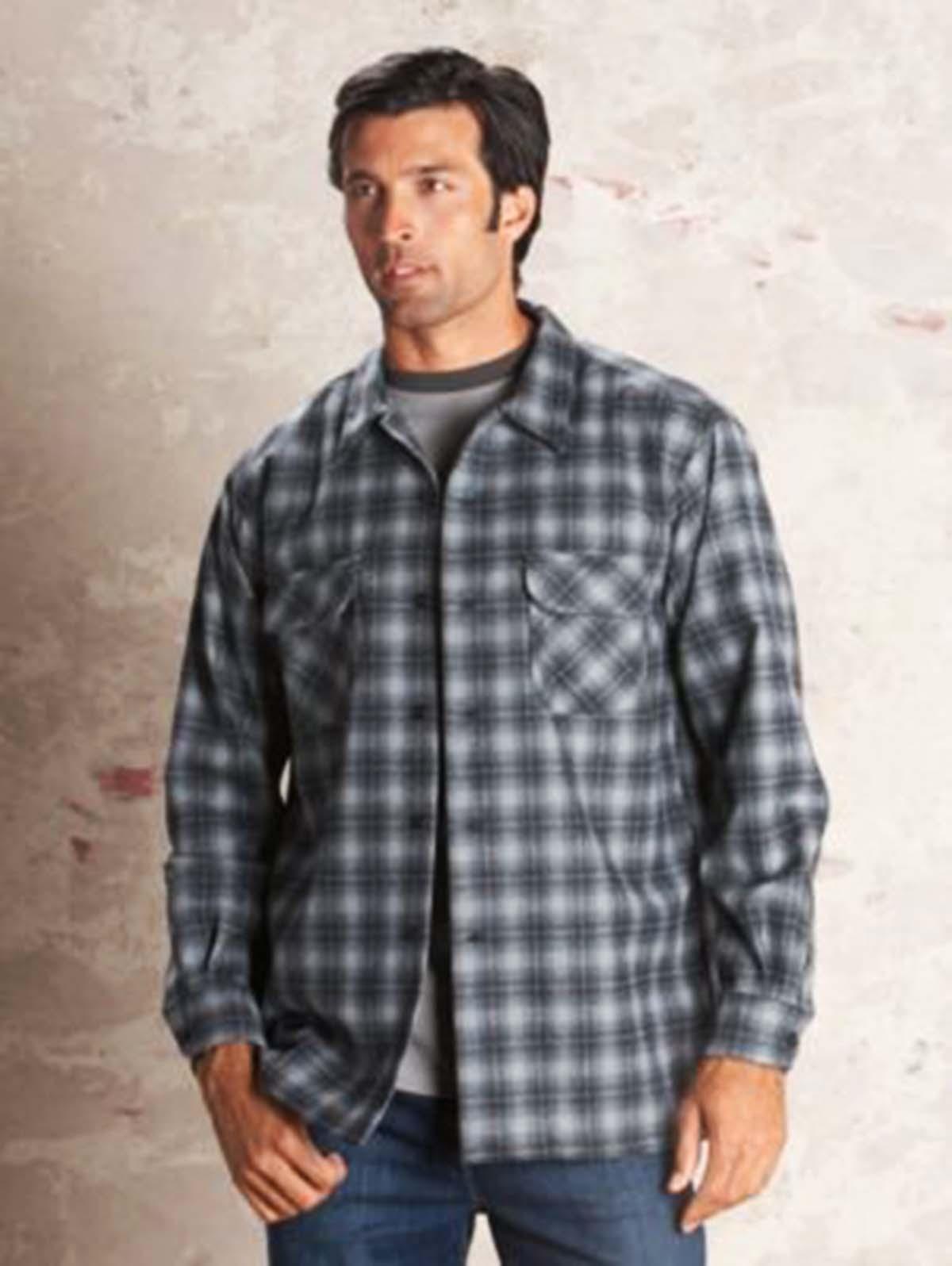 画像3: ペンドルトン ウールシャツ ボードシャツ チャコールオンブレXS/Pendleton Board Shirt