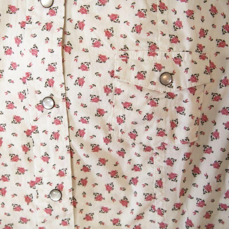 画像2: カーハート ウエスタン シャツ フローラル・シャーベット(長袖・レディース)/Long Sleeve Western Shirt(Women's)