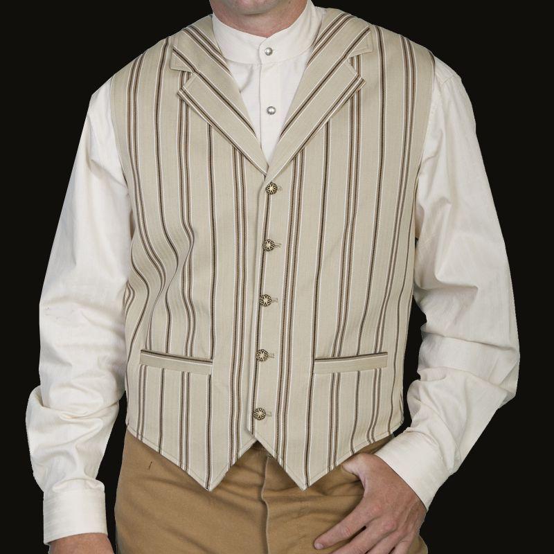 画像2: ワーメーカー フロンティア ベスト(タン)L/Wah Maker Old West Vest (Tan)
