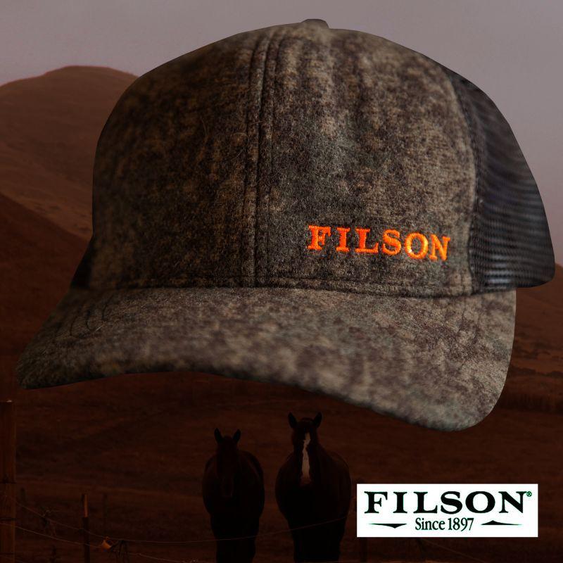 画像1: フィルソン ロガー メッシュ キャップ(カモブラウン)/Filson Logger Mesh Cap