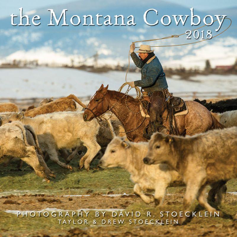 画像1: ウエスタン&ホース カレンダー モンタナ カウボーイ/2018 Montana Cowboy Calendar