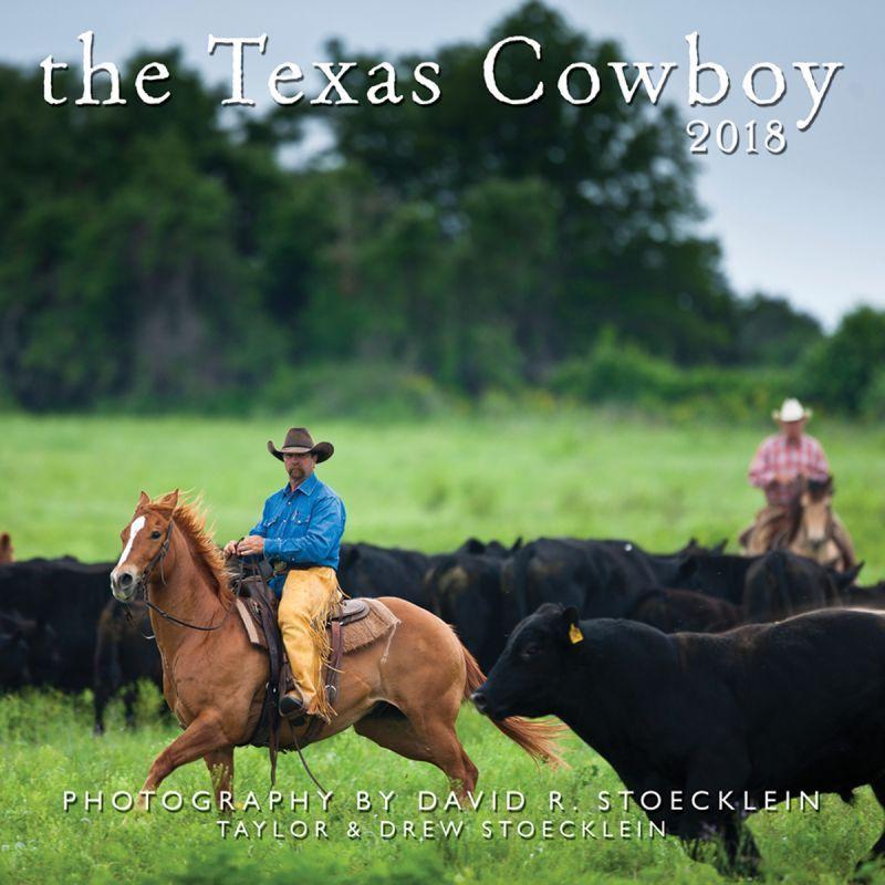画像1: ウエスタン&ホース カレンダー テキサス カウボーイ/2018 Texas Cowboy Calendar