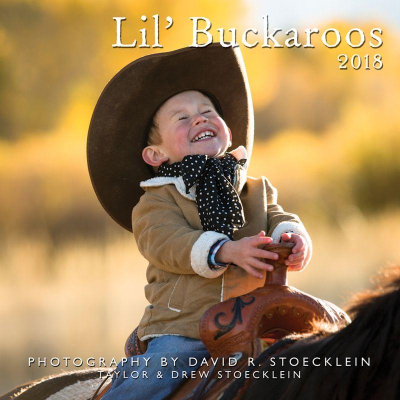 画像1: ウエスタン&ホース カレンダー リトルカウボーイ/2018 'Lil Buckaroos Calendar