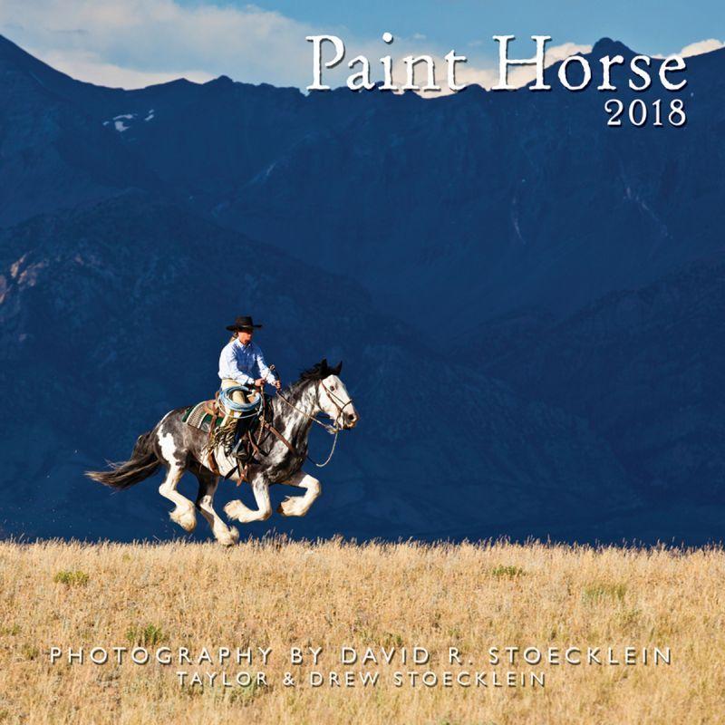 画像1: ウエスタン&ホース カレンダー ペイント ホース/2018 Paint Horse Calendar