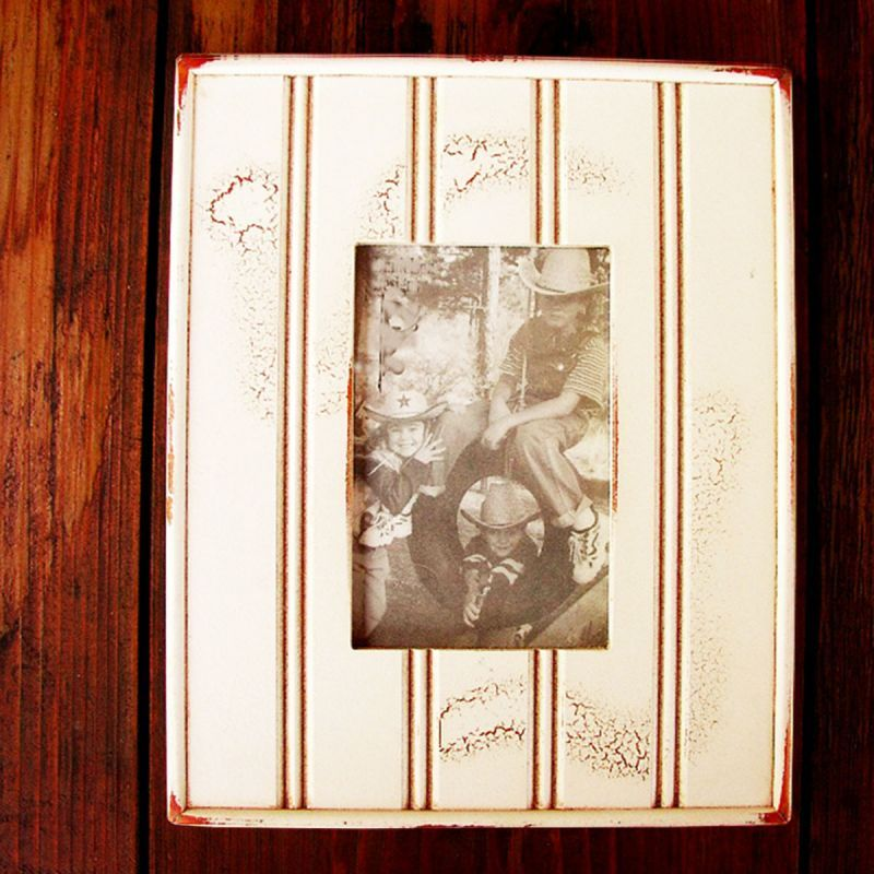 画像1: アメリカ製 ウッド フォトフレーム(木製写真立て)/Wood Photo Frame