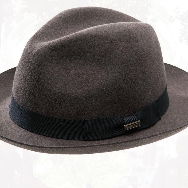 画像2: ペンドルトン クラシック フェドラ ハット(ダークグレー)L/Pendleton Classic Fedora Hat Dark Grey