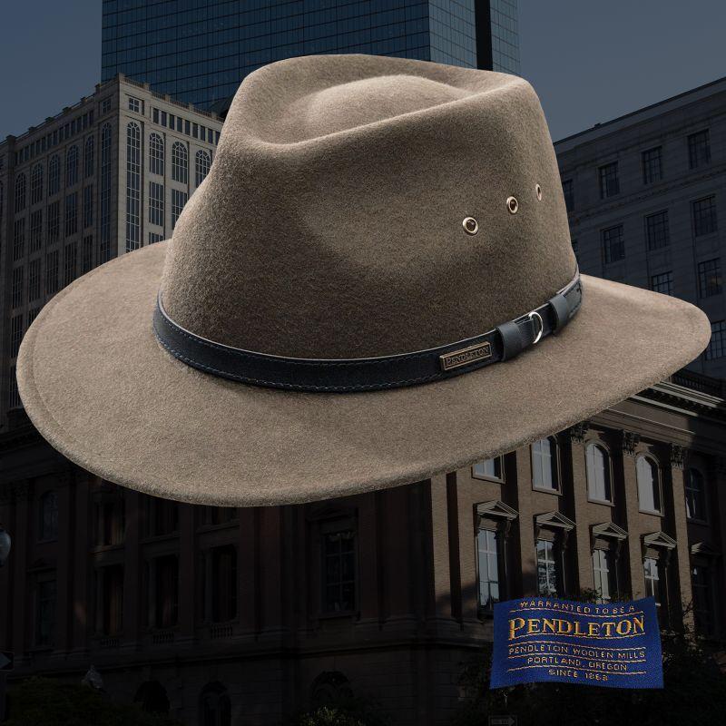 画像1: ペンドルトン ゲタウェイ ハット(トープ)/Pendleton Getaway Hat (1)