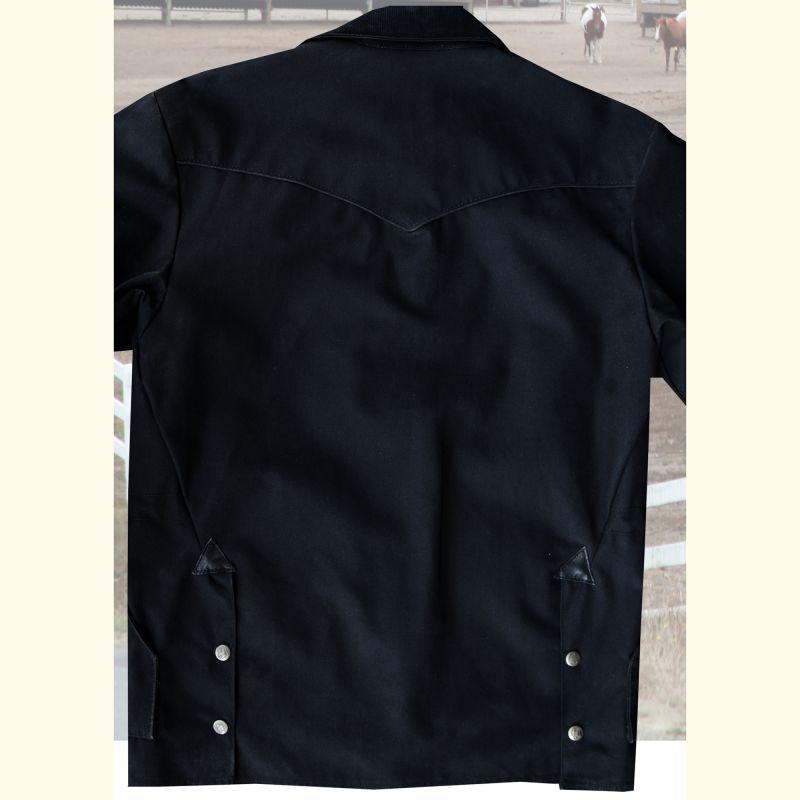 画像3: シェーファー ウエスタン ドリフター コート(ブラック)/Schaefer Drifter Coat(202-Black)