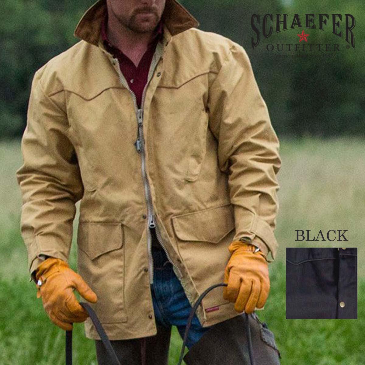 画像1: シェーファー ウエスタン ドリフター コート(ブラック)/Schaefer Drifter Coat(202-Black) (1)