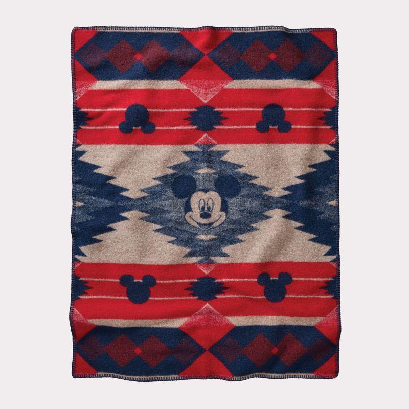 画像1: ペンドルトン ミッキーマウス フロンティア ムチャチョ ブランケット/Pendleton Disney's Mickeys Frontier Crib Blanket
