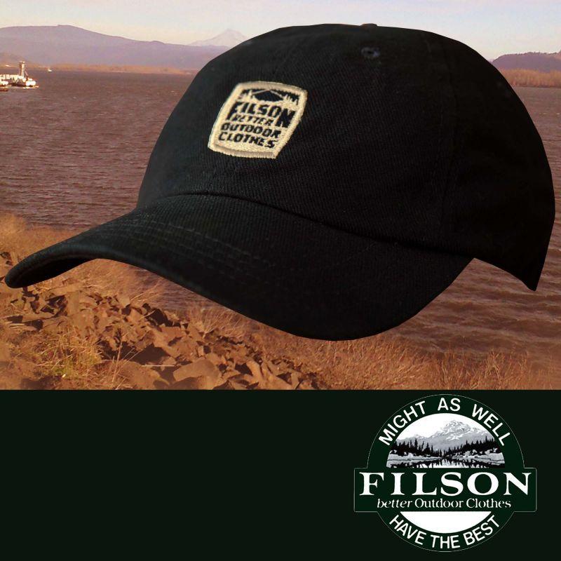 画像1: フィルソン キャップ(BETTER OUTDOOR CLOTHES/ネイビー)/Filson Baseball Cap