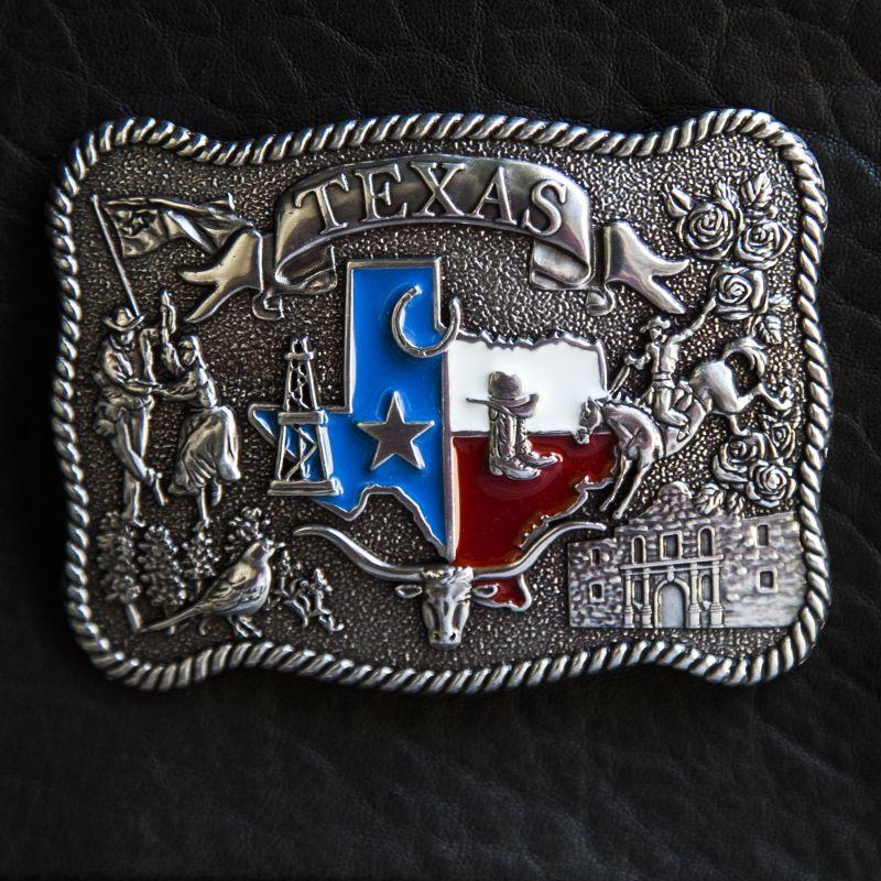 画像1: ノコナ ベルト バックル テキサス/Nocona Belt Buckle (1)