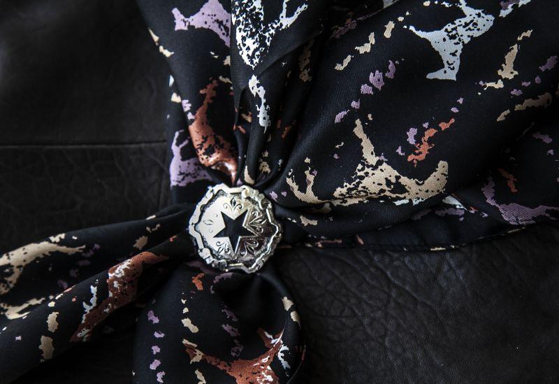 画像2: シルク ワイルドラグ(カウボーイ大判スカーフ)ホース/100% Silk Wild Rags
