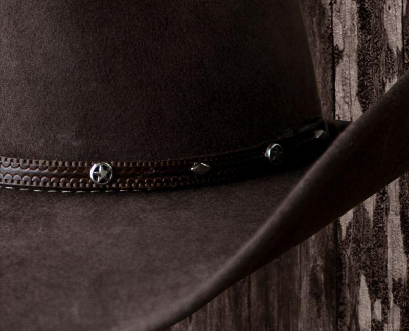 画像2: ウール カウボーイ ハット(スター ブラウン)/Western Wool Hat