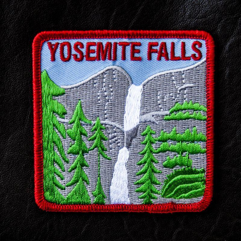 画像1: ワッペン ヨセミテ滝/Patch Yosemite Falls