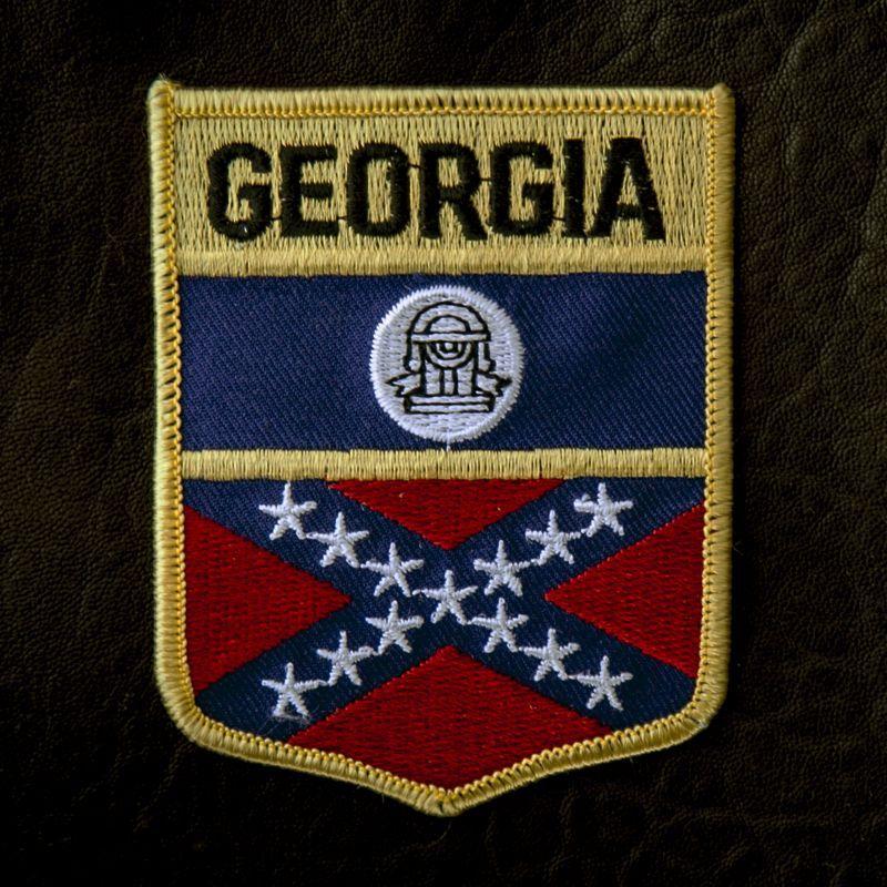 画像1: ワッペン ジョージア/Patch Georgia