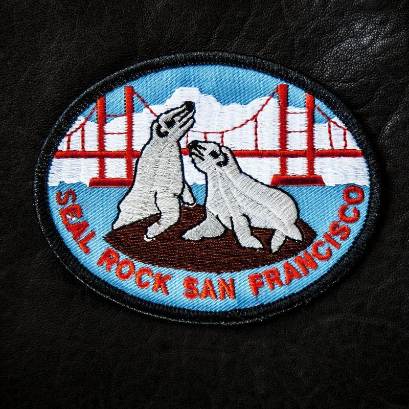 画像1: ワッペン シール ロック サンフランシスコ/Patch