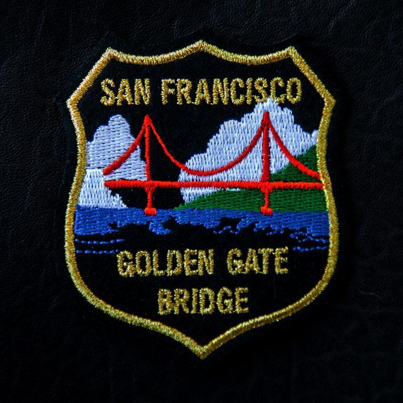 画像1: ワッペン ゴールデン ゲート ブリッジ・サンフランシスコ/Patch San Francisco Golden Gate Bridge