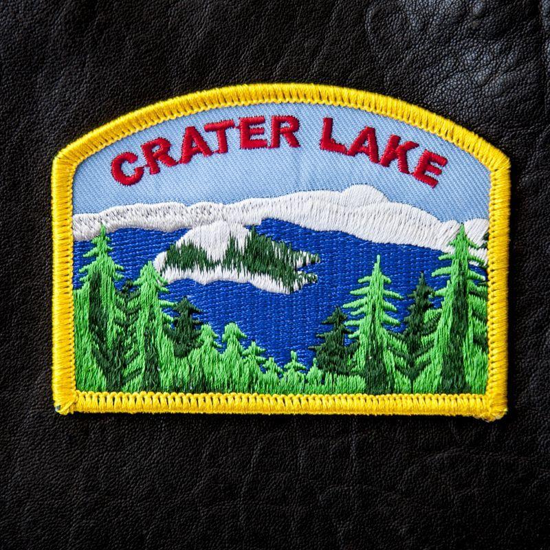 画像1: ワッペン クレーターレイク国立公園/Patch Crater Lake National Park