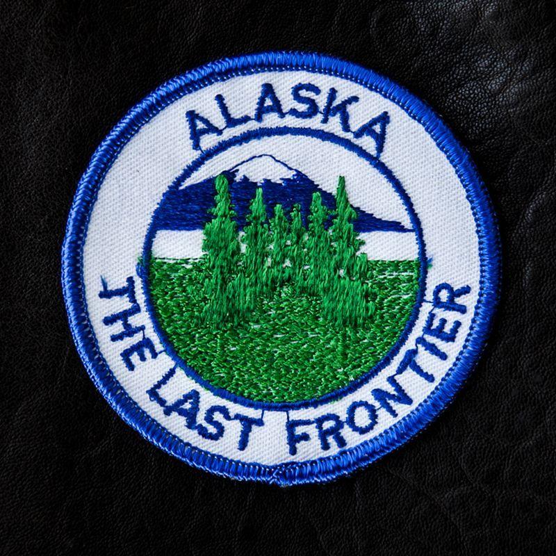 画像1: ワッペン アラスカ/Patch Alaska