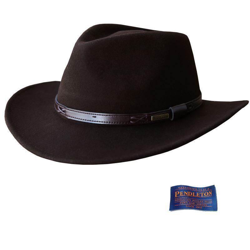 画像1: ペンドルトン インディ ハット(ビーバーブラウン)L/Pendleton Indy Hat(Beaver Brown)
