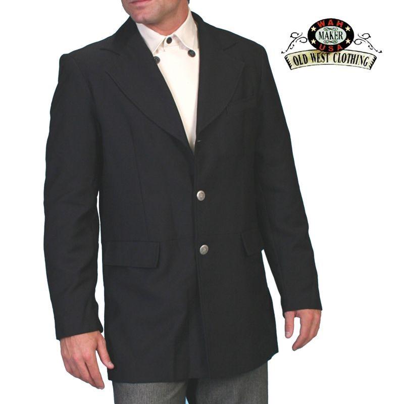画像1: ワーメーカー フロック タウン コート(ブラック)34/Wah Maker Frock Town Coat(Black)