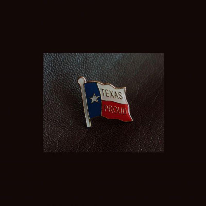 画像1: ピンバッジ テキサス プラウド/Pin