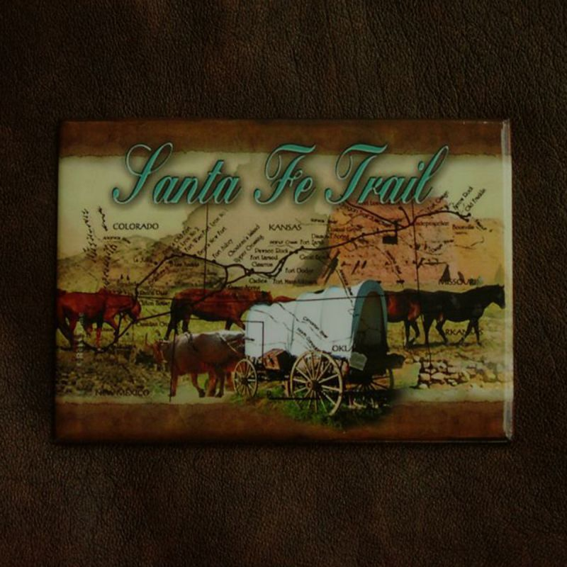 画像1: マグネット サンタフェ トレイル Santa Fe Trail