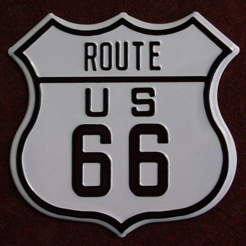 画像1: マグネット ルート66 メタル ROUTE US 66