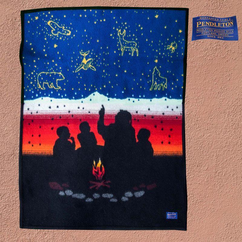 画像1: ペンドルトン ブランケット ミニ キープマイファイアーバーニング/Pendleton Keep My Fires Burning Blanket