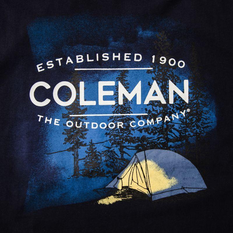 画像2: コールマン アウトドア キャンプ 半袖 Tシャツ(ネイビー)/Coleman T-shirt