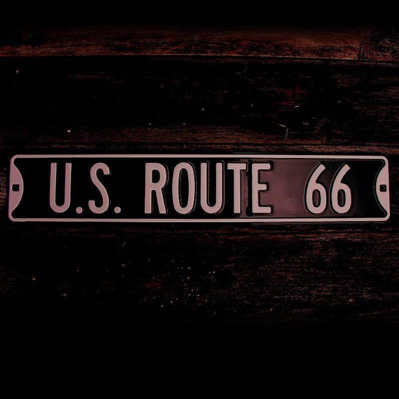 画像1: ルート66 ストリート サイン/Route 66 Sign