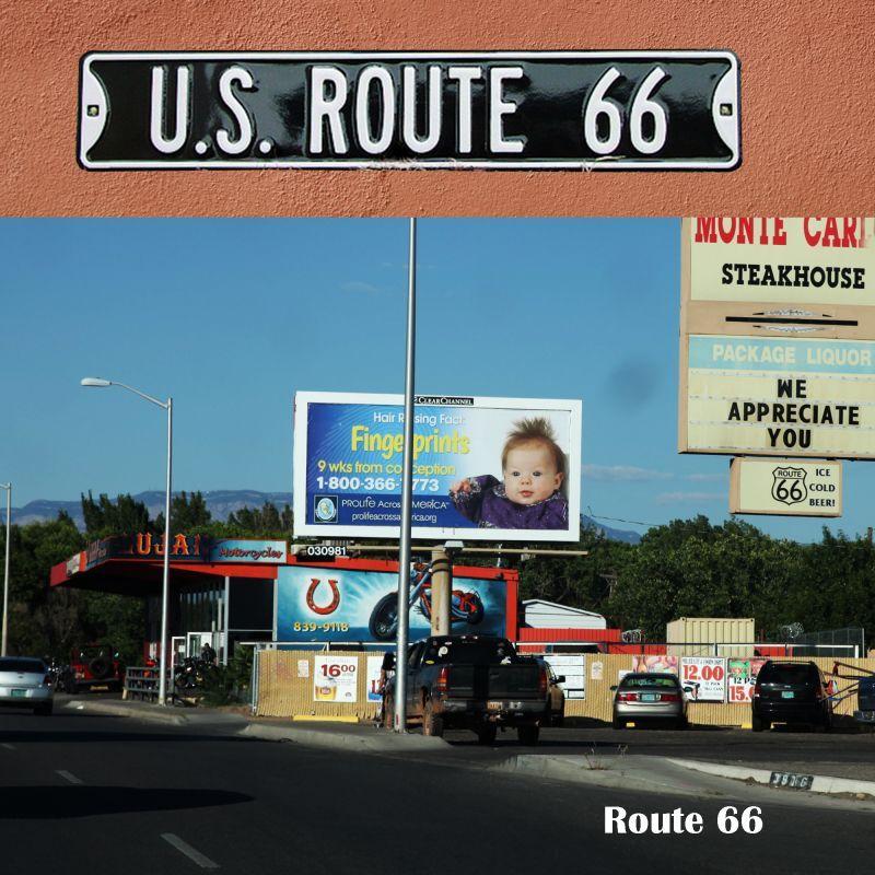 画像2: ルート66 ストリート サイン/Route 66 Sign